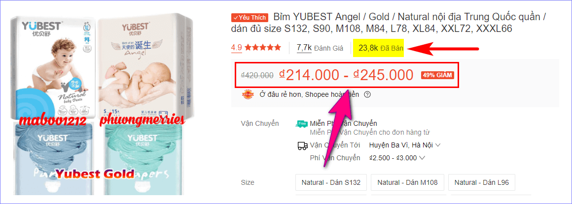 Mua bỉm Yubest ở đâu chính hãng giá rẻ