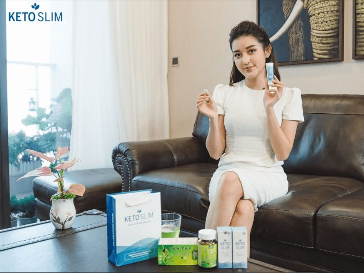 Á hậu Huyền My chia sẻ về sản phẩm viên sủi giảm cân mà cô sử dụng