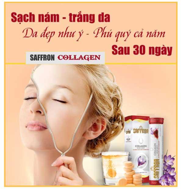 saffron collagen có tốt không