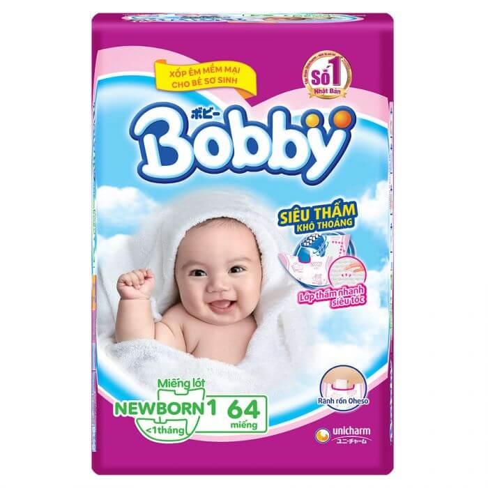 Miếng lót cho trẻ sơ sinh Bobby