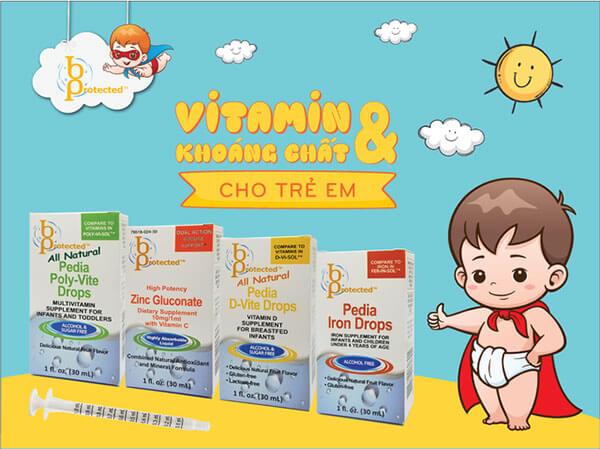 BPROTECTED - Vitamin Cho Trẻ