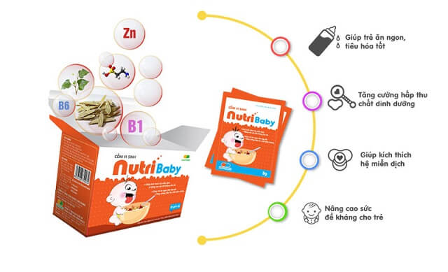 Công dụng của Nutribaby