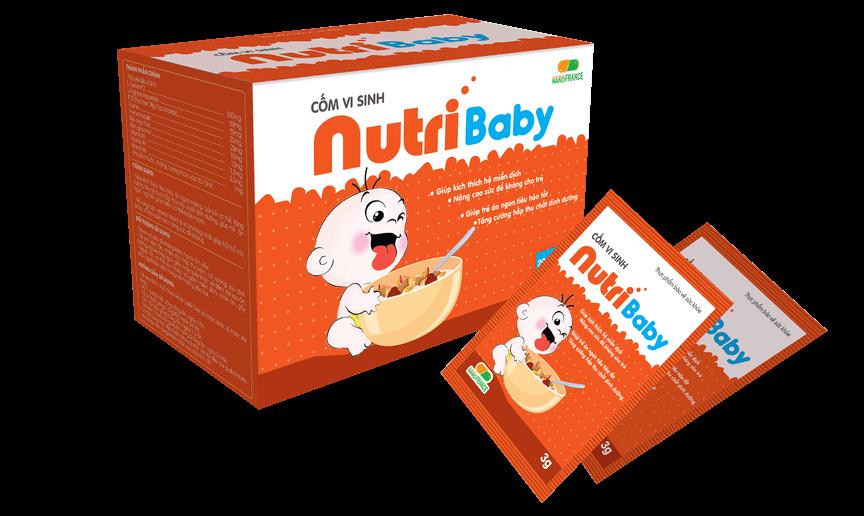 nutribaby cốm vi sinh tốt nhất cho trẻ em