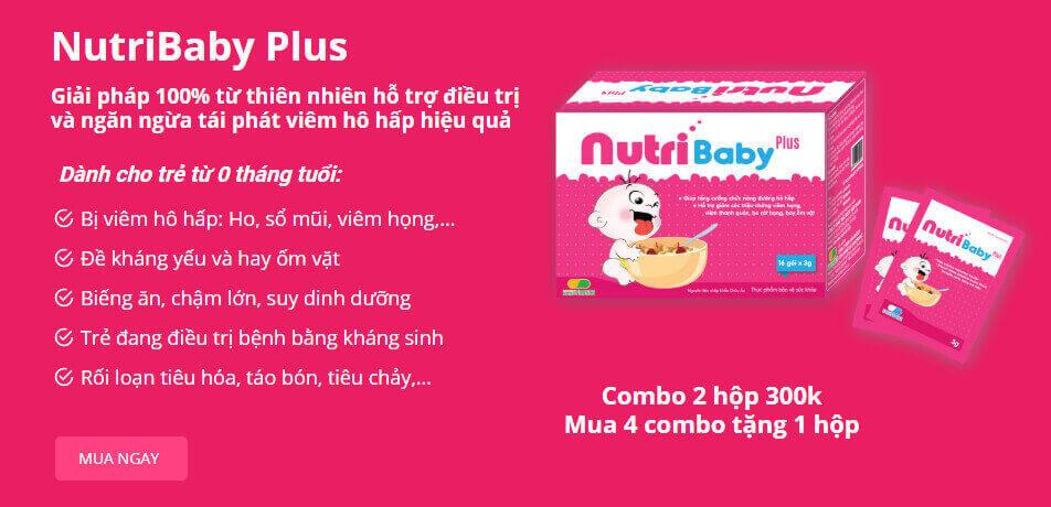 cốm vi sinh nutribaby plus