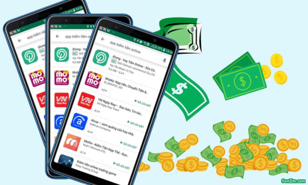 app kiếm tiền online trên điện thoại uy tín